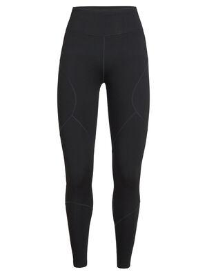 女款 Tranquil紧身裤 Tranquil紧身裤修身剪裁,运动风十足,选用柔软的美丽诺羊毛毛巾布面料,还加入少量LYCRA®莱卡以增加弹性,专为运动和支撑力而设计。