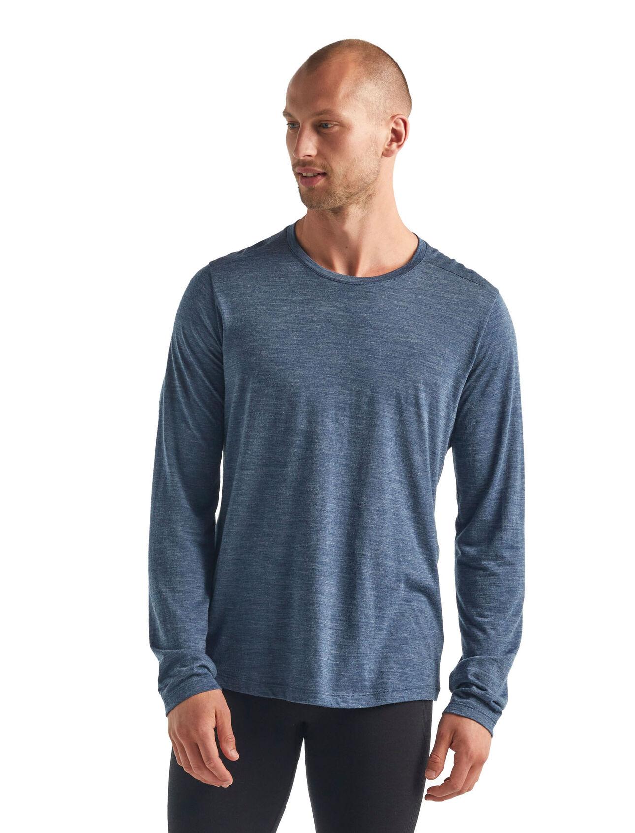 Cool-Lite™ Sphere T-shirt met lange mouwen en ronde hals