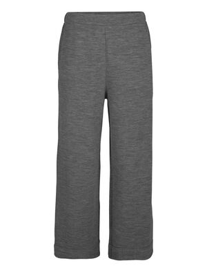 Womens RealFleece® Merino Wide Pants  A casual everyday pant that combines the airy comfort of a skirt with unique modern style, the RealFLEECE® Wide Pants feature soft, stretchy merino terry fabric.