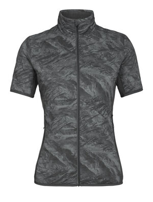 MerinoLoft™ Headwaters Hybrid Short Sleeve Full Zip Top