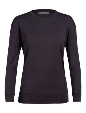 Womens Nature Dye Merino Drayden Long Sleeve Crewe T-Shirt A natural moisture-wicking women's T-shirt made with an odor-resistant merino wool blend, the nature dye Drayden Long Sleeve Crewe balances performance with style.