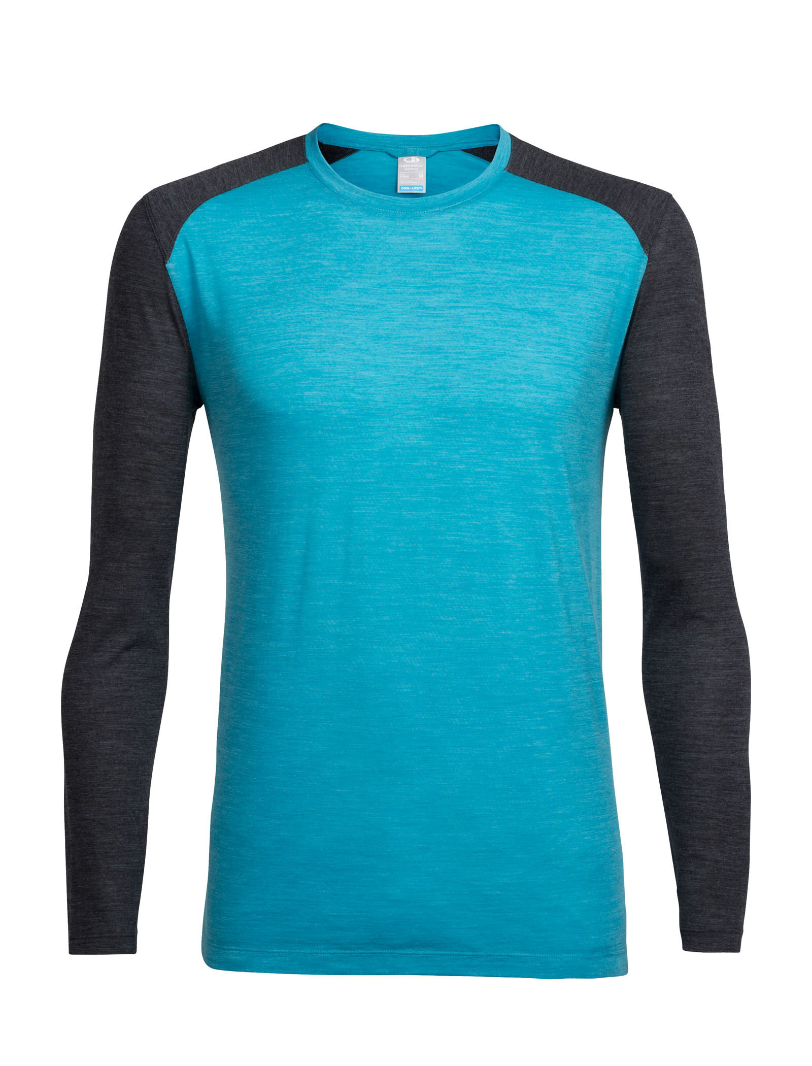 New Zealand Merino Wool 102227 Icebreaker Merino Sphere Long Sleeve Crew Neck Shirt for Travel Or Hiking