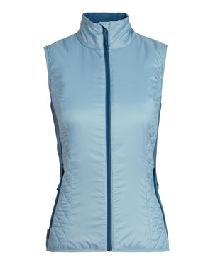 Womens MerinoLOFT™ Helix Vest Designed as active alpine insulation for cold, high-output days of skiing, climbing, snowshoeing or hiking, the Women's Helix Vest combines sustainable materials with a technical design.