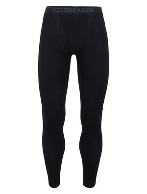 Mens Merino 260 Tech Thermal Leggings With Fly Midweight base layer bottoms perfect for skiing, winter hiking, or cold-weather layering, the 260 Tech Leggings With Fly are a warmer version of our best-selling Oasis Leggings, made with 100% merino wool.