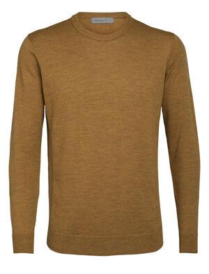 男款 Shearer圆领针织衫 Shearer圆领针织衫采用100%美丽诺羊毛制成,透气防臭、格外柔软,是一款舒适且有型的日常针织套头衫。