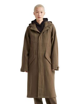 icebreaker x Goldwin合作款美丽诺羊毛大衣