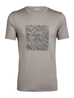 Nature Dye Merino 200 Short Sleeve Crewe T-Shirt Asteroid English