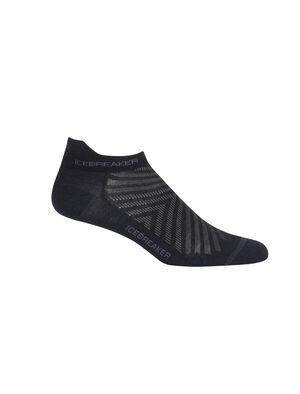 男款 Run+超薄及踝跑步袜 Run+超薄及踝跑步袜在一年四季的越野跑中都可穿着,这款超轻、耐穿且防臭的美丽诺羊毛袜令您畅享舒适及出色贴合。
