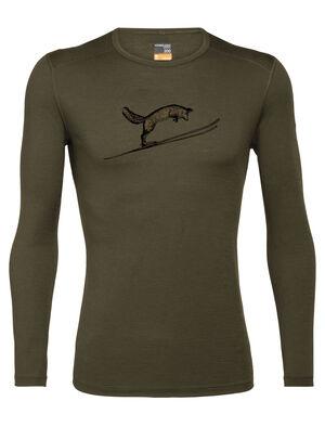 Merino 200 Oasis Langarmshirt Fox Jump