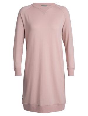 女款 美丽诺羊毛Lydmar连衣裙 Lydmar连衣裙选用Icebreaker特色的RealFLEECE®面料,87%的美丽诺羊毛包芯混纺面料更加耐穿,休闲剪裁使其成为日常休闲穿搭和冬季叠搭的理想单品。