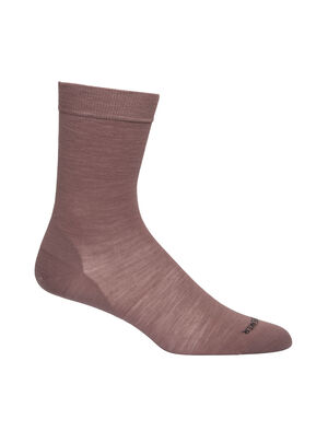 Womens Merino Lifestyle Fine Gauge Crew Socks Lightweight and soft for everyday comfort, the Lifestyle Fine Gauge Crew socks are made with luxurious, fine-gauge merino wool, with reinforced heels and toes.