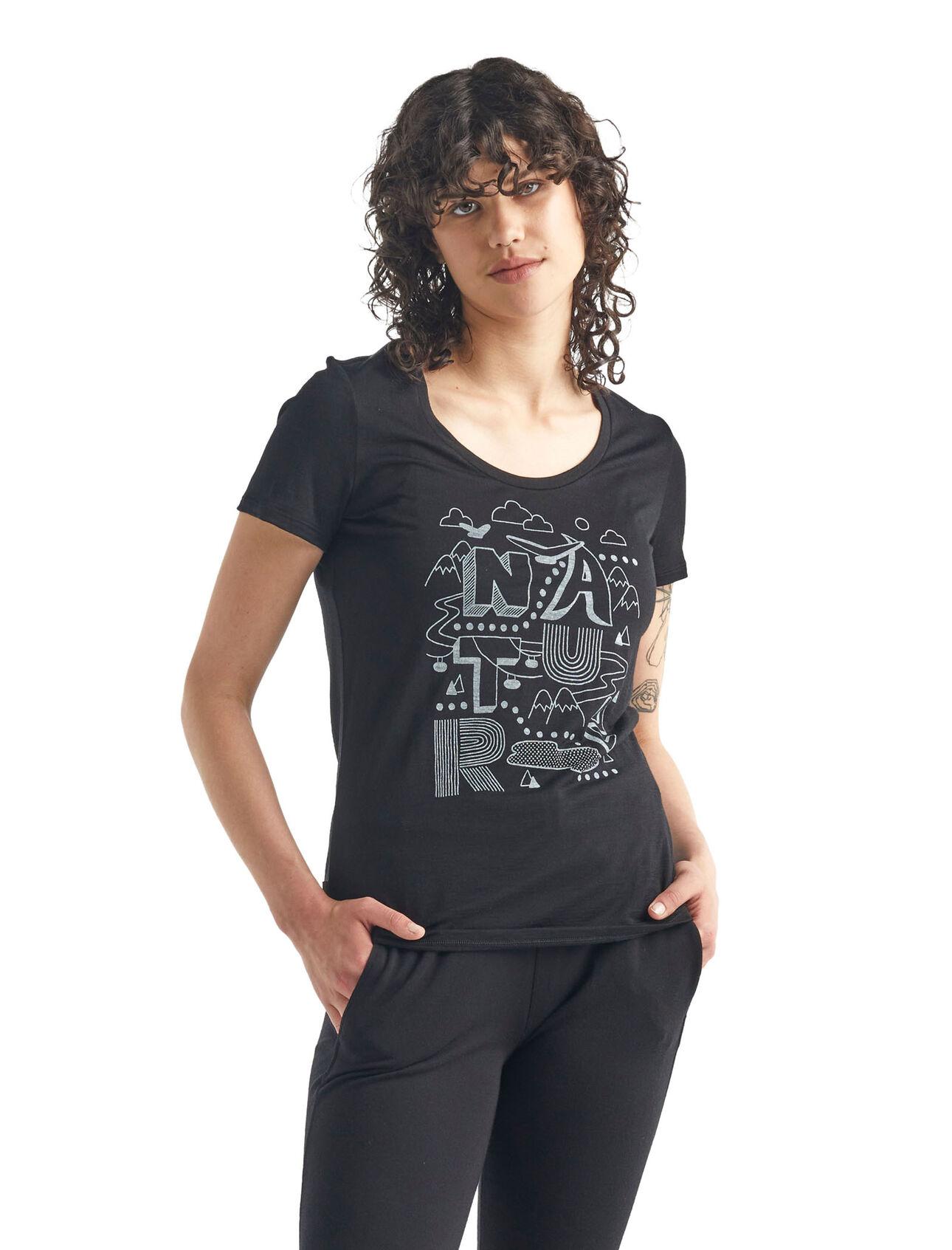 Merino Tech Lite Short Sleeve Scoop Neck T-Shirt Nature