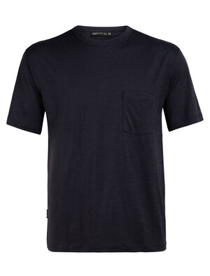 Merino Tech Lite Laid-Back T-Shirt mit Brusttasche