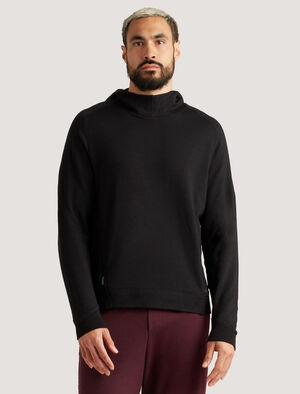 Mens Merino Hoodie The warm and breathable Merino Hoodie is perfect for life on the move - across town or time zones. In naturally odor-resistant merino, it includes zippered hand pockets for safely stowing small items.