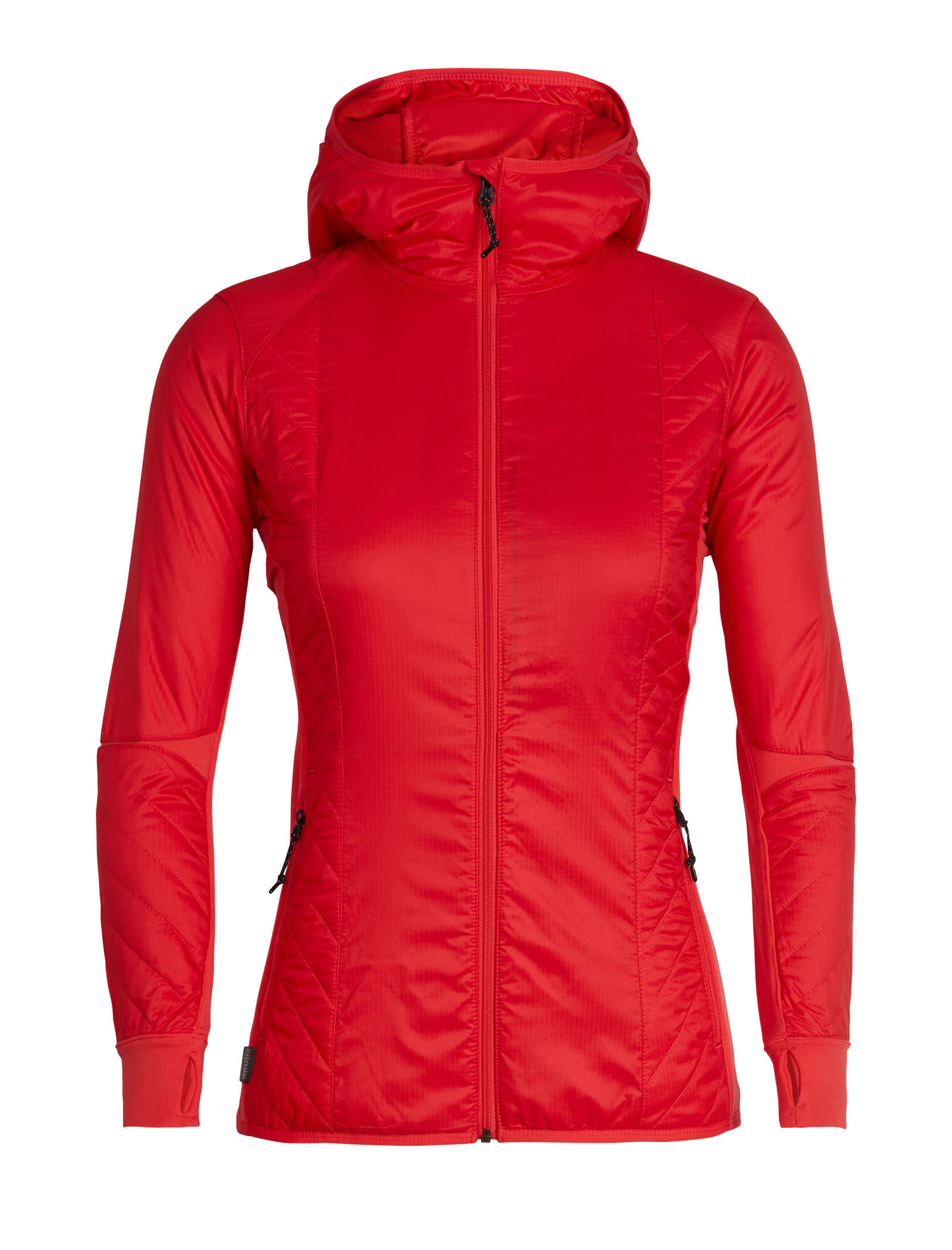 women's merinoloft™ helix long sleeve zip hood  grund jacken c 8_27 #6