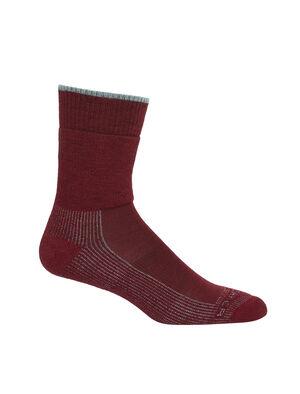 Femme Merino Hike Medium Crew Socks Chaussettes de sentier légères, robustes et résistantes aux odeurs offrant un maximum de confort et un ajustement de qualité, nos mi-chaussettes de randonnée moyennes sont parfaites pour les jours de randonnée, peu importe les conditions.