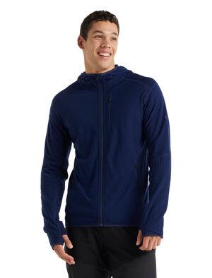 RealFleece™ Merino Descender Long Sleeve Zip Hood Jacket