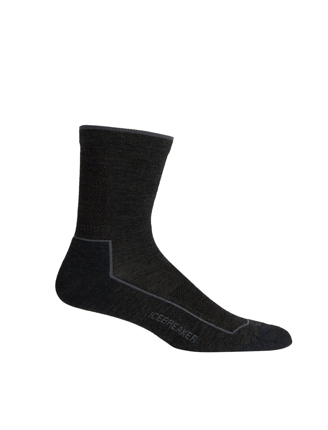 Mens Merino Cool Lite Lifestyle 3q Crew Socks Icebreaker