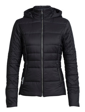Womens MerinoLOFT™ Stratus X Hooded Jacket A modern winter jacket designed to bring versatile mountain looks and natural warmth to your everyday life and post-adventure pursuits, the Stratus X Jacket is as flattering and stylish as it is easy on the environment.