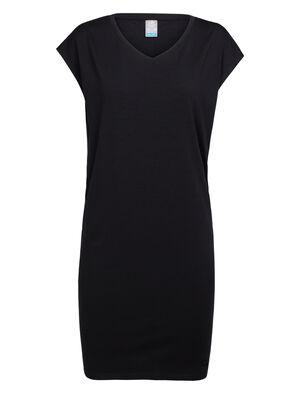 女款 Cool-Lite™ Yanni T恤连衣裙 Yanni女款运动风T恤连衣裙采用休闲剪裁和低V领设计,以Cool-Lite™美丽诺羊毛平纹针织面料制成,更加舒适耐穿。