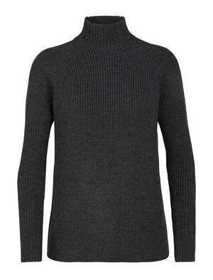 Womens Merino Hillock Funnel Neck Sweater A stylish everyday knit sweater with a high-neck design for added warmth in cold conditions, the Hillock Funnel Neck Sweater embodies the natural benefits of 100% merino wool.