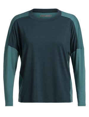 女款Cool-Lite™ Kinetica长袖圆领T恤