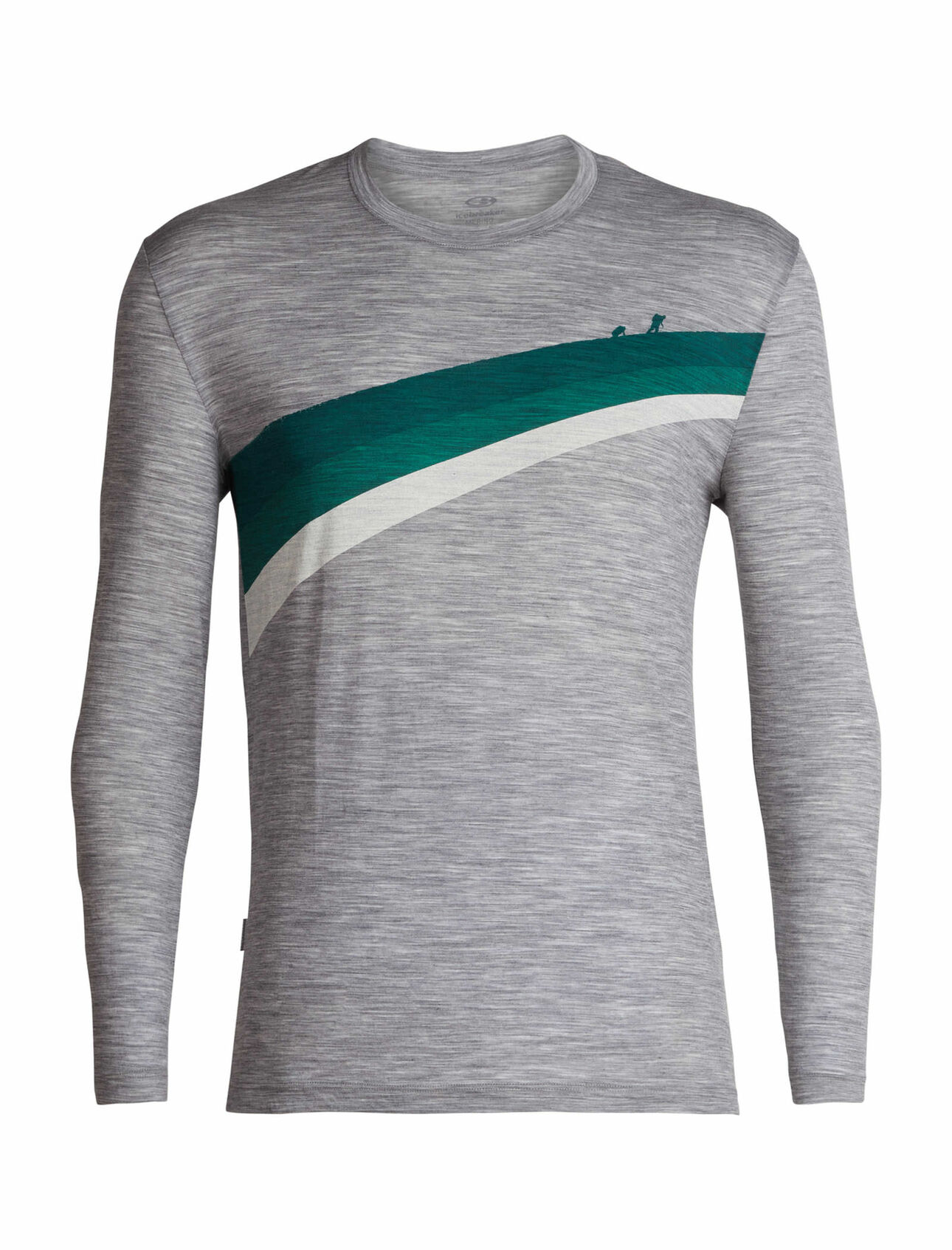 e0df8f4af9c Spector Long Sleeve Crewe Ascent Stripe - Icebreaker (US)
