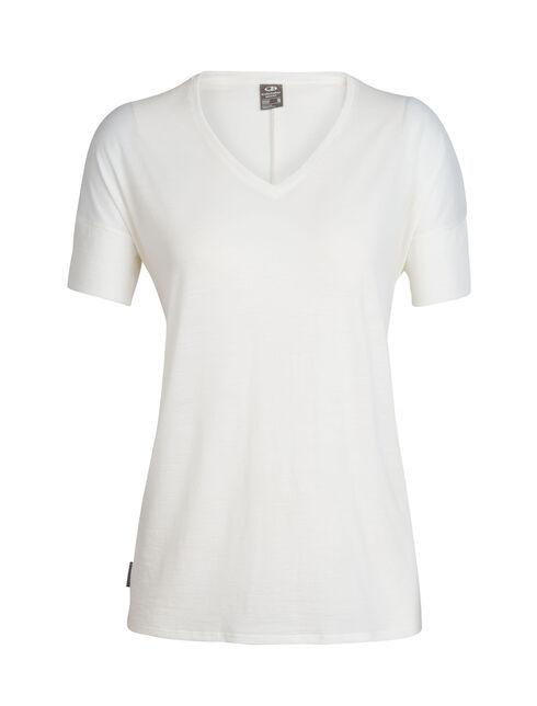 Cool-Lite™ Solace短袖V领上衣