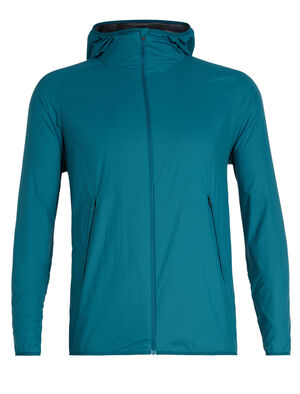 Mens Coriolis II Hooded Windbreaker A lightweight jacket for protection against the elements, the Coriolis II Hooded Windbreaker is made from a durable nylon, with a water-resistant finish.