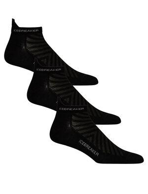 Mens Merino Run+ Ultralight Micro Socks 3 Pack Ultra-lightweight, durable and odor-resistant merino socks designed for maximum comfort and premium fit, our Run+ Ultralight Micro socks are ideal for all-round trail running performance.