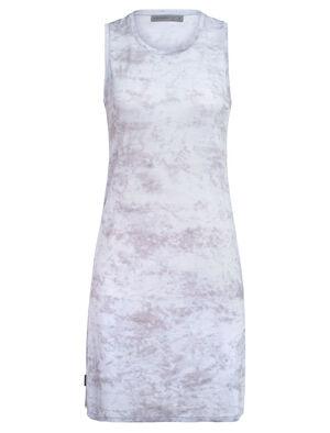 Femme Cool-Lite™ Merino Yanni Sleeveless Dress Robe extensible et légère, composée d'un jersey mérinos cool-lite™ pour le confort et la longévité, la Yanni Sleeveless Dress se distingue par sa coupe ample et son encolure dégagée classique.