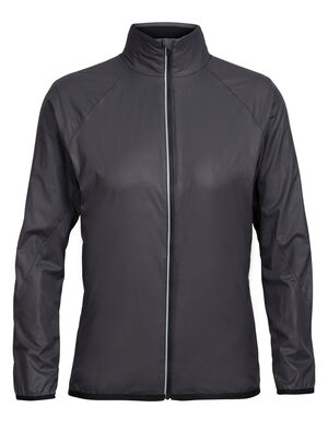 Womens Cool-Lite™ Rush Windbreaker A weather-resistant women's shell jacket that features a ripstop nylon outer and merino wool mesh lining for quick-drying performance and breathability, the Rush Windbreaker is perfect for active mountain pursuits like running, climbing and hiking.