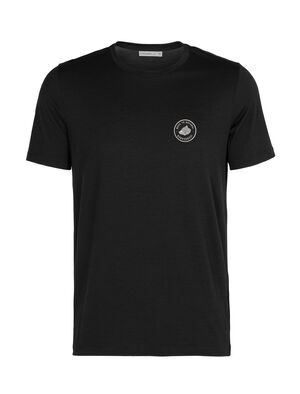 Merino Tech Lite kurzärmliges T-Shirt mit Rundhalsausschnitt Move to Natural