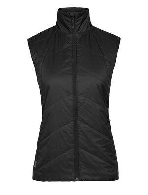 Womens MerinoLoft™ Helix Vest A technical lofted vest made with sustainable merino wool and recycled materials, the Helix Vest is a warm winter outer layer for everyday versatility.