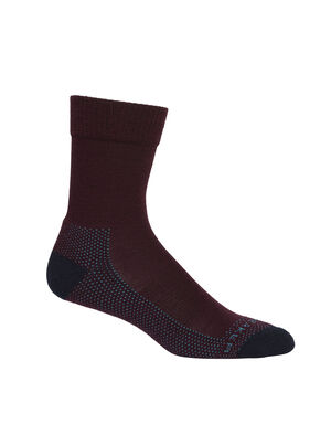 Womens Merino Hike Light Crew Socks Lightweight, durable and odor-resistant trail socks designed for maximum comfort and premium fit, our Hike Light Crew socks are ideal for day hiking and warmer conditions.