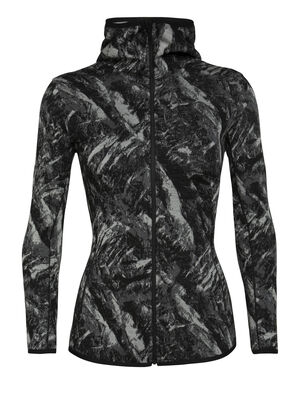 Womens RealFleece™ Merino Elemental Long Sleeve Zip Hood Jacket A heavyweight mid layer ideal for training or adventures in cold conditions, the Elemental Long Sleeve Zip Hood features a streamlined design and our stretchy merino RealFleece™.