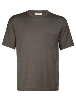 Merino Tech Lite Laid-Back Short Sleeve Pocket Crewe Tee