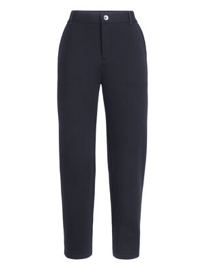 Womens Tech Pants Soft and comfortable women's merino wool slacks with a touch of Lycra® for everyday active stretch, the Tech Pants feature a refined, urban aesthetic.