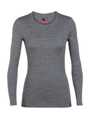 女款 260 Tech长袖圆领上衣 260 Tech长袖圆领上衣是冬季叠搭的必备基本款,以100%美丽诺羊毛制成,是我们畅销款Oasis上衣的中厚保暖版本。