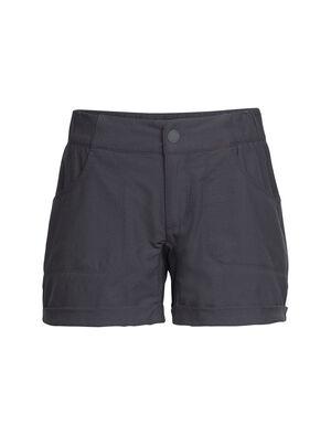 女款 Connection短裤 Connection短裤将柔软透气的美丽诺羊毛与环保有机棉和增加弹性的少量LYCRA®莱卡混纺制成,搭配格外舒适的休闲剪裁,使其成为日常休闲或旅行探险时穿着的理想单品。半松紧裤腰实现轻薄舒适的贴合度,经典的四口袋设计让您安全存放日常随身用品。卷边裤脚为这款休闲短裤加入了一份别致有型。