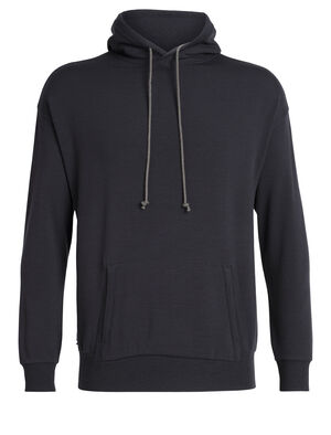 Mens 旅 TABI RealFLEECE® Pullover Hoodie A classic men's merino wool hooded sweatshirt, the Real Fleece Pullover Hoodie is part of the Tabi collection, a collaboration with Japanese apparel house Goldwin.