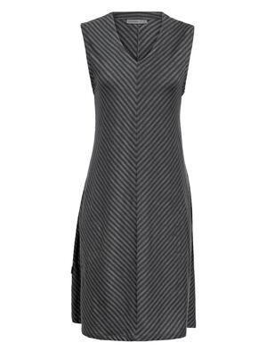 Femme Cool-Lite™ Merino Elowen Sleeveless Dress Robe composée de tissu cool-lite™ léger et respirant, l'Elowen Sleeveless Dress vous apporte douceur, confort et extensibilité l'été.