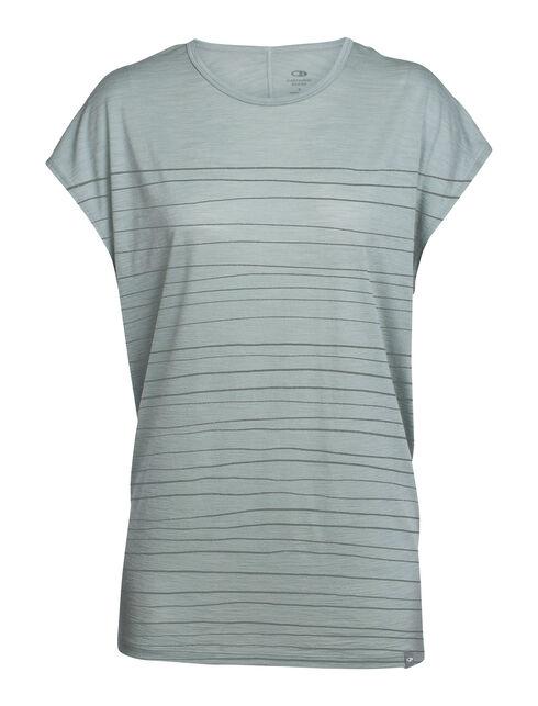 Aria Short Sleeve Tunic Line Print