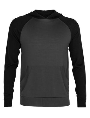 Mens Cool-Lite™ Merino Utility Explore Hooded Pullover Sweater A soft and breathable merino-blend hoodie in 100% natural fibers, the Utility Explore Hooded Pullover Sweater is made with our Cool-Lite™ fabric in a casual and relaxed fit.
