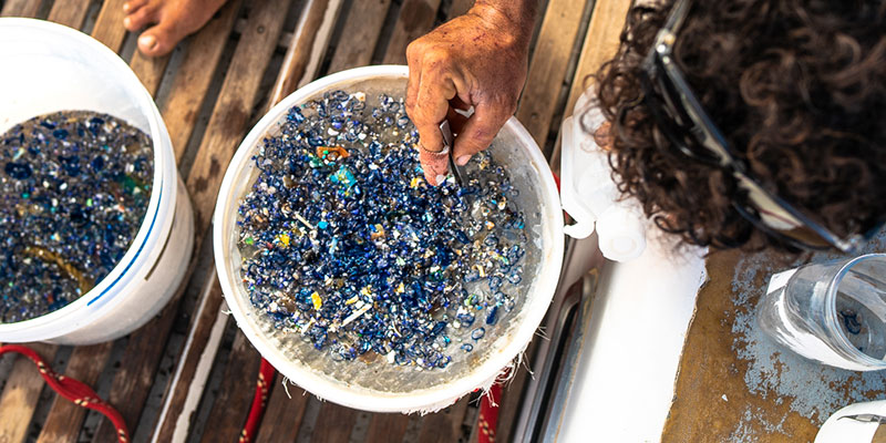 The smog of microplastic