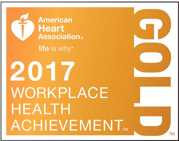 Workplace health achievement logo