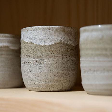 icebreaker's sustainable reusable ceramic cups